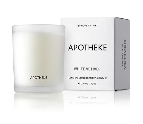 White Vetiver Votive Candle design by Apotheke