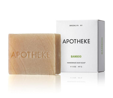 Bamboo Bar Soap design by Apotheke