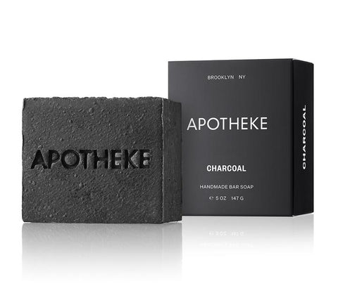 Charcoal Bar Soap design by Apotheke