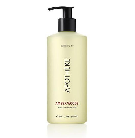 Amber Woods Liquid Soap design by Apotheke