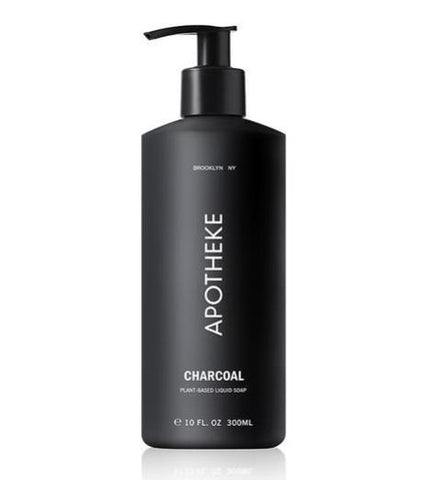 Charcoal Liquid Soap design by Apotheke