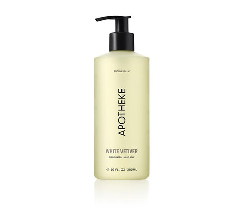 White Vetiver Liquid Soap design by Apotheke