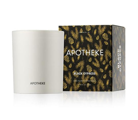 Black Cypress Candle design by Apotheke