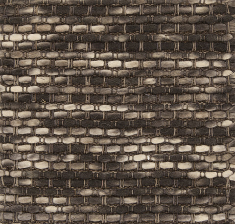 Argos Collection Hand-Woven Area Rug in Cream, Brown, & Charcoal