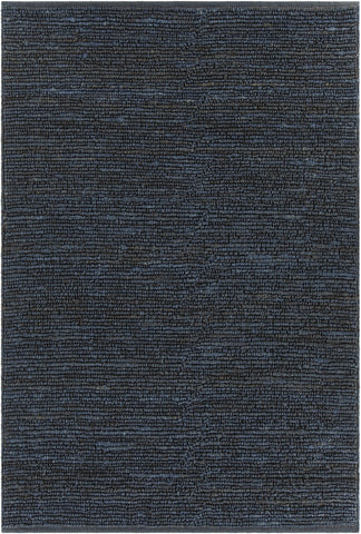 Arlene Collection Hand-Woven Area Rug in Blue