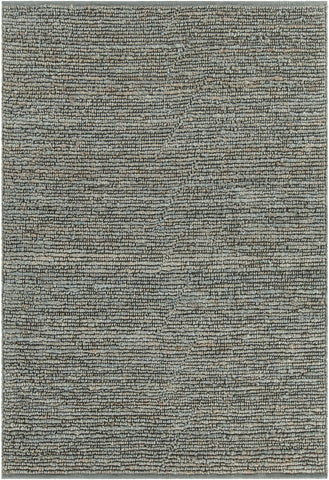 Arlene Collection Hand-Woven Area Rug in Green design by Chandra rugs