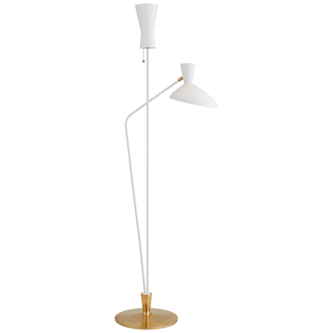 Austen Large Dual Function Floor Lamp by AERIN