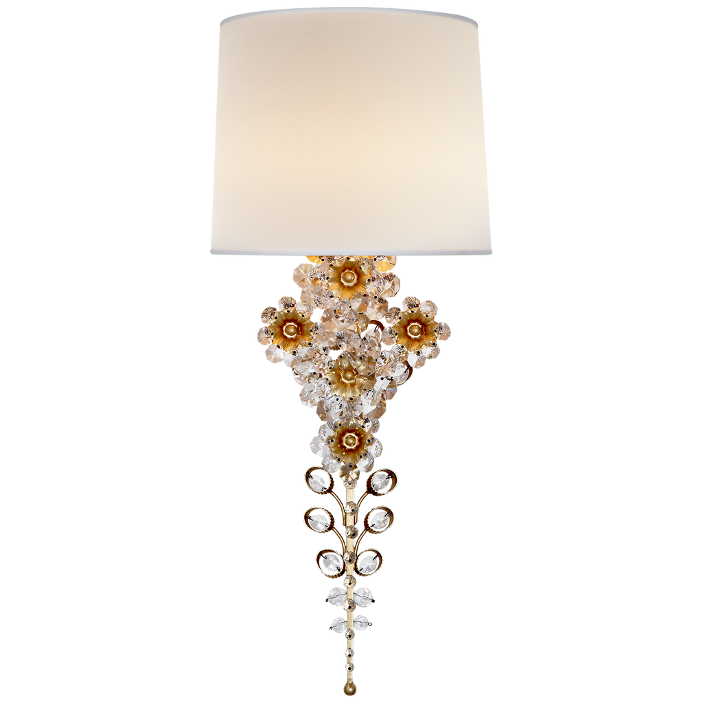 Claret Tail Sconce by AERIN