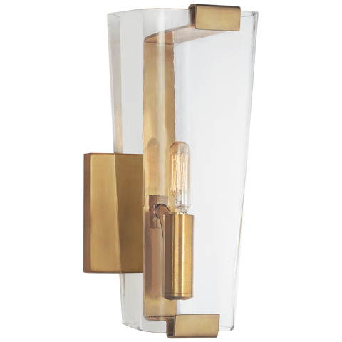 Alpine Small Single Sconce by AERIN