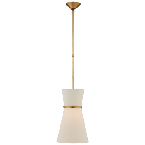 Clarkson Small Single Pendant by AERIN