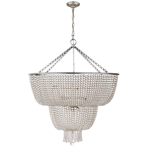 Jacqueline Two-Tier Chandelier by AERIN