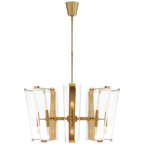 Alpine Medium Chandelier by AERIN