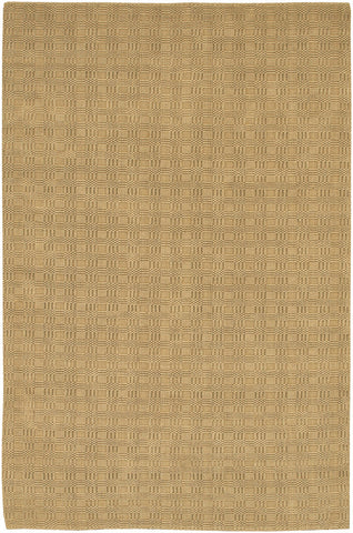 Art Collection Hand-Woven Area Rug in Tan design by Chandra rugs