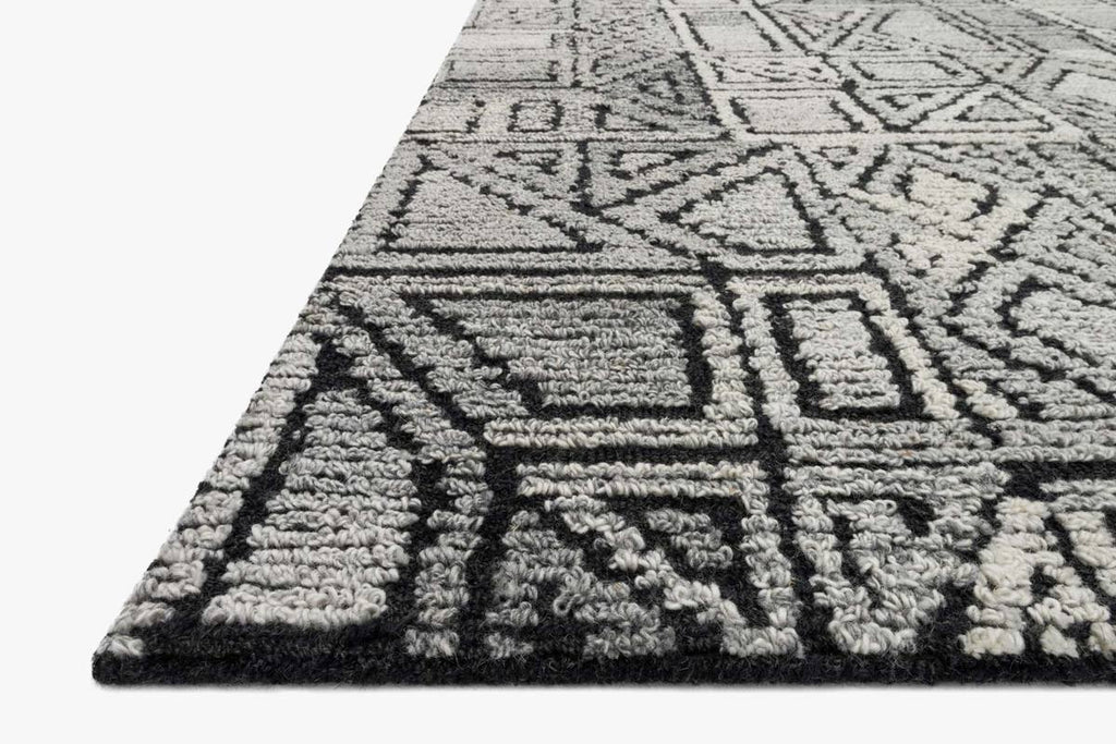 Artesia Rug in Charcoal & Grey by ED Ellen DeGeneres Crafted by Loloi