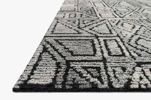 Artesia Rug in Charcoal & Grey design by Ellen DeGeneres for Loloi