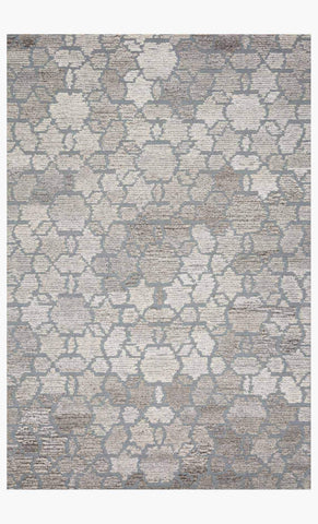 Artesia Rug in Grey & Grey design by Ellen DeGeneres for Loloi