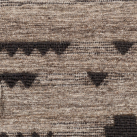 Asher Hanging Rug in Black & Cream design by Surya