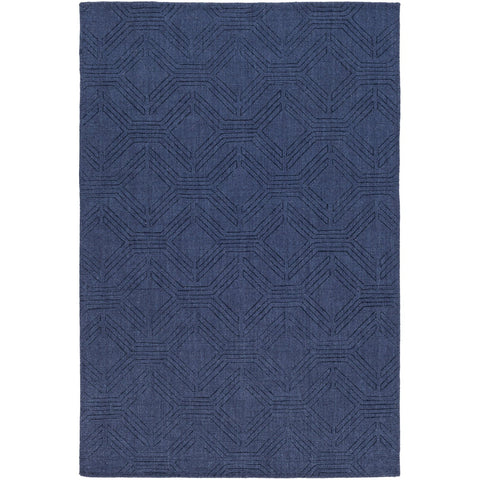 Ashlee ASL-1009 Hand Loomed Rug in Navy by Surya