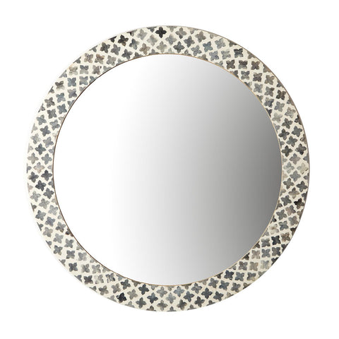 Slate Quatrefoil Wall Mirror design by Tozai
