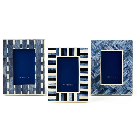 Azure 4 x 6 Picture Frame in 3 Assorted Designs