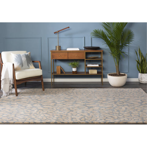 Athena ATH-5001 Hand Tufted Rug in Medium Gray & Taupe by Surya