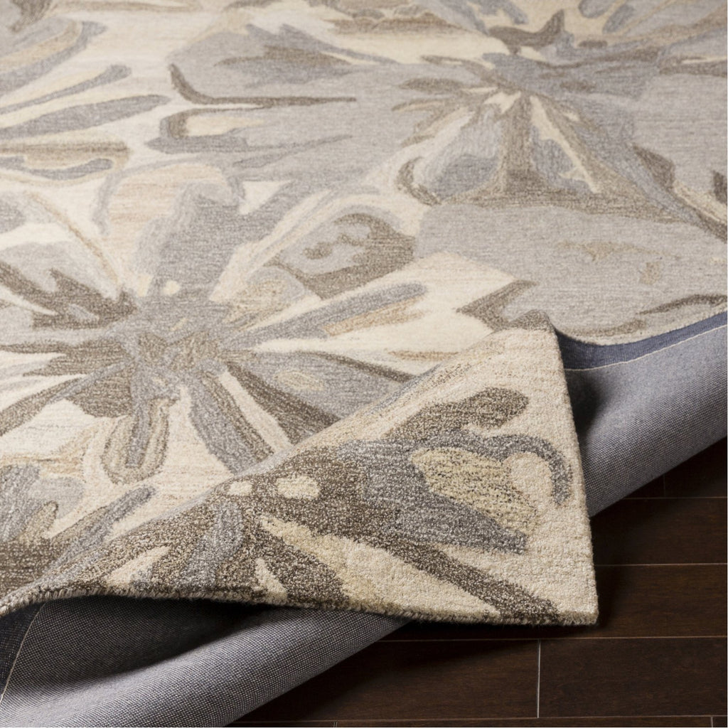 Athena ATH-5150 Hand Tufted Rug in Taupe & Charcoal by Surya