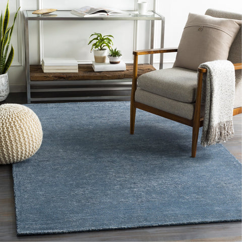 Austin AUS-2306 Hand Tufted Rug in Navy & Denim by Surya