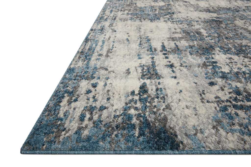 Austen Rug in Natural / Ocean by Loloi II