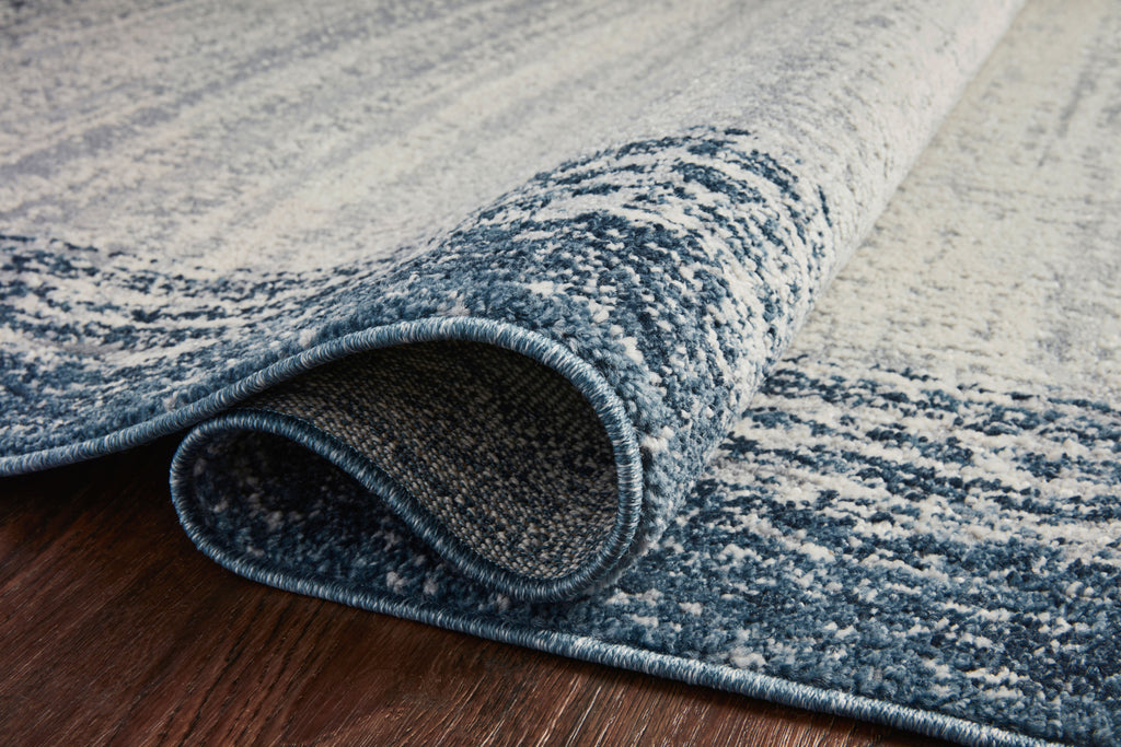 Austen Rug in Pebble / Blue by Loloi II
