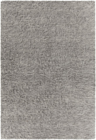 Aveda Collection Hand-Woven Area Rug in Grey