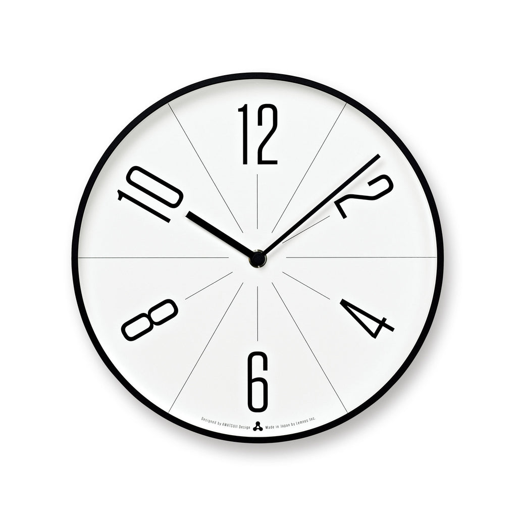 GUGU Clock in Black design by Lemnos