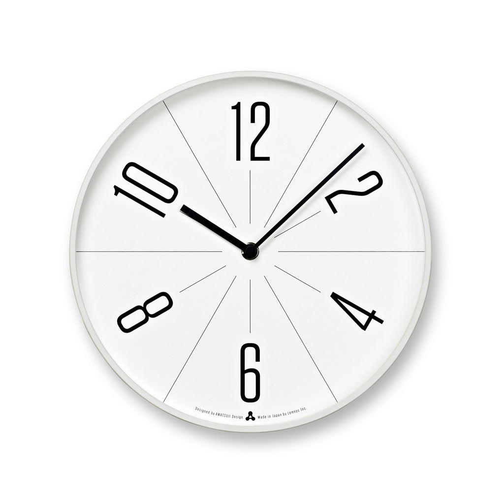 GUGU Clock in White design by Lemnos