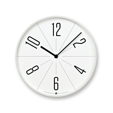 GUGU Clock in White