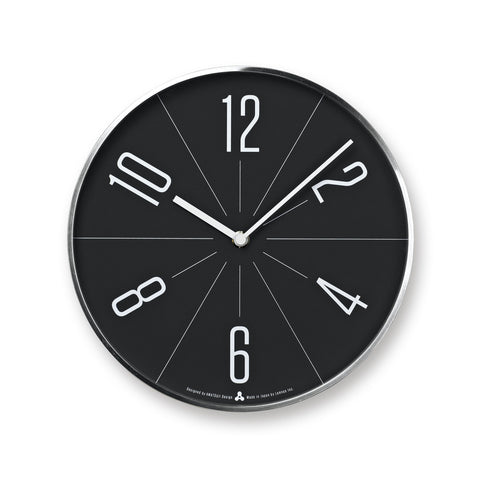 GUGU Clock in Silver design by Lemnos