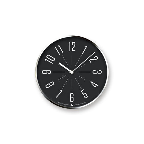 JIJI Clock in Silver