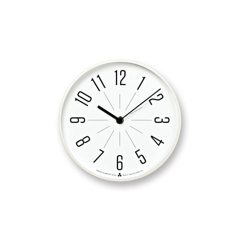 JIJI Clock in White