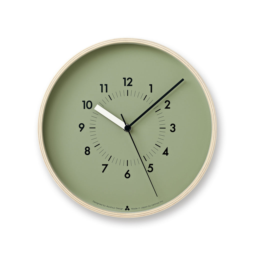 SOSO Clock in Green