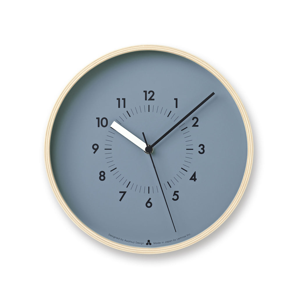 SOSO Clock in Blue design by Lemnos