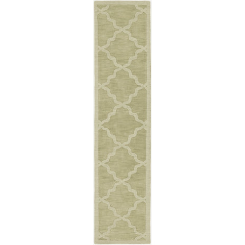 Central Park AWHP-4016 Hand Loomed Rug in Grass Green by Surya