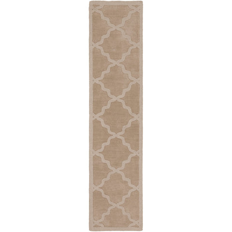 Central Park AWHP-4020 Hand Loomed Rug in Khaki by Surya