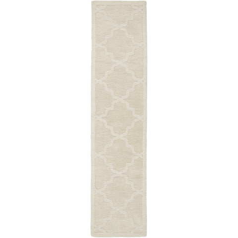 Central Park AWHP-4021 Hand Loomed Rug in Khaki by Surya