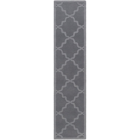 Central Park AWHP-4023 Hand Loomed Rug in Medium Gray by Surya