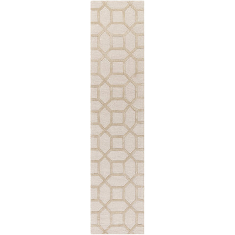 Arise AWRS-2130 Hand Tufted Rug in Khaki by Surya
