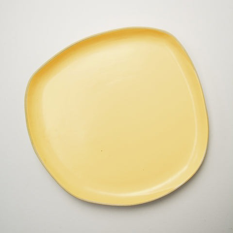 Organic Patty Pan Dinner Plate by BD Edition I