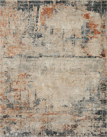 Axel Rug in Stone / Multi by Loloi