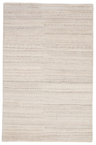 Hermitage Trellis Rug in Angora & Ash design by Jaipur Living