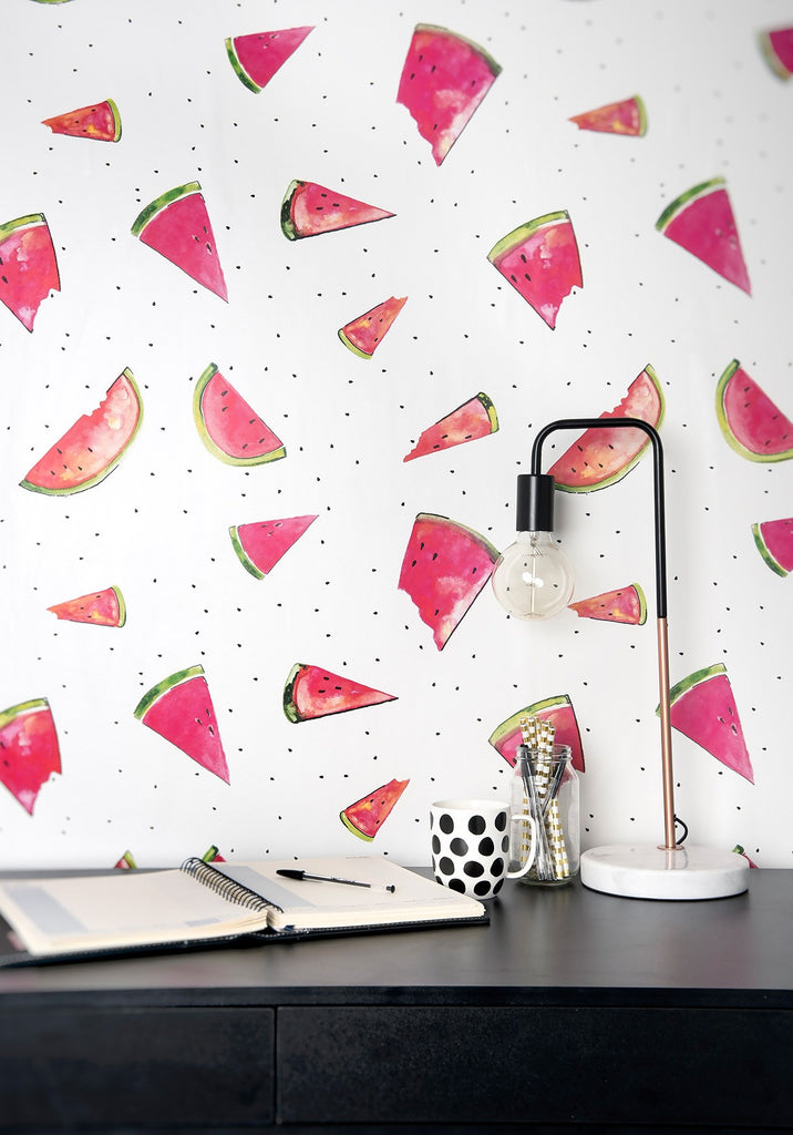 A Slice Wallpaper from the Tastemakers Collection design by Milton & King