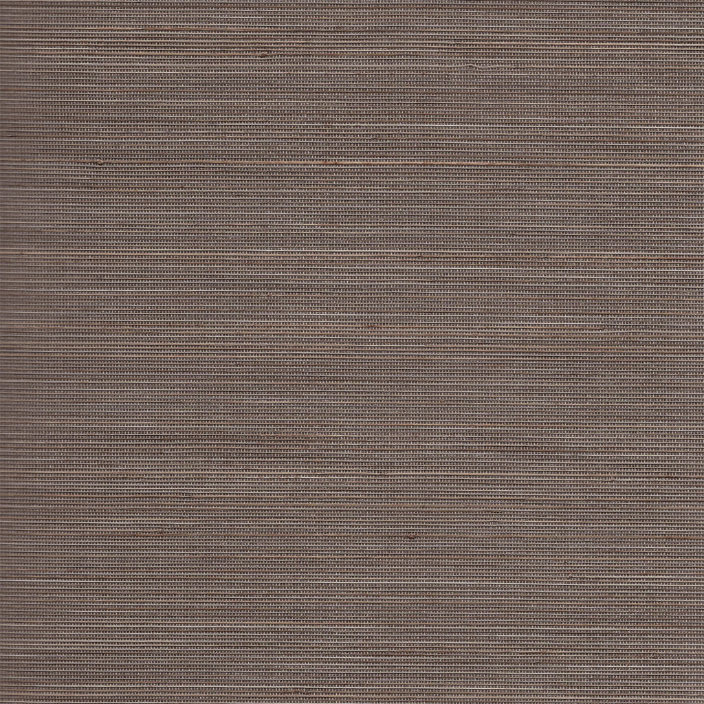 Abaca Grasscloth Wallpaper in Charcoal and Sandstone from the Luxe Retreat Collection by Seabrook Wallcoverings