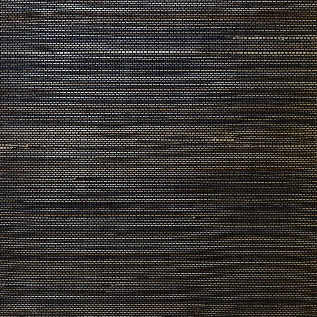 Abaca Grasscloth Wallpaper in Midnight Galaxy from the Luxe Retreat Collection by Seabrook Wallcoverings