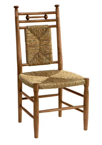 Abigail Dining Side Chair in Almond design by Redford House - BURKE DECOR